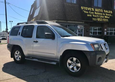 2009 Nissan Xterra for sale at Steve's Auto Sales in Norfolk VA
