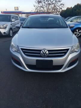 2012 Volkswagen CC for sale at Thomas Auto Sales in Manteca CA