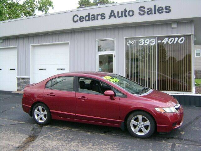 2009 Honda Civic for sale at Cedar Auto Sales in Lansing MI