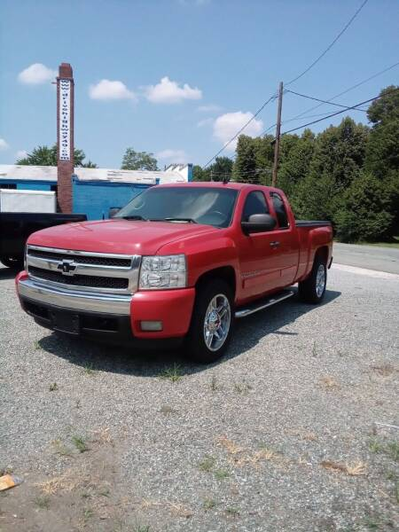 2008 Chevrolet Silverado 1500 for sale at HWY 49 MOTORCYCLE AND AUTO CENTER in Liberty NC