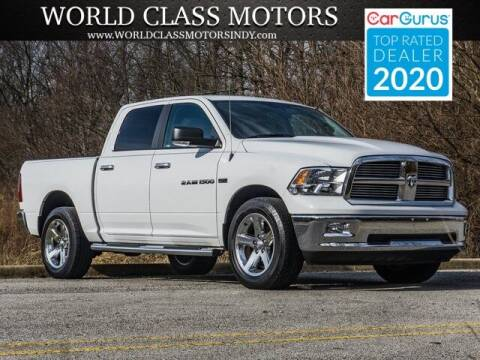 2012 RAM Ram Pickup 1500 for sale at World Class Motors LLC in Noblesville IN