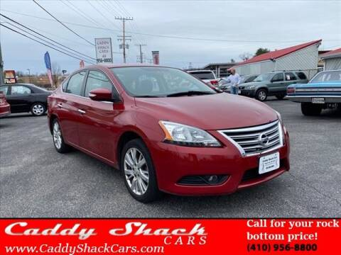 2014 Nissan Sentra for sale at CADDY SHACK CARS in Edgewater MD