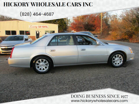 2010 Cadillac DTS for sale at Hickory Wholesale Cars Inc in Newton NC