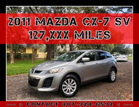 2011 Mazda CX-7 for sale at AFFORDABLE ONE LLC in Orlando FL