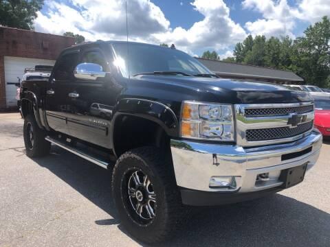2013 Chevrolet Silverado 1500 for sale at Creekside Automotive in Lexington NC