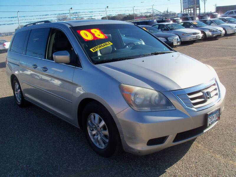 2008 Honda Odyssey for sale at Country Side Car Sales in Elk River MN