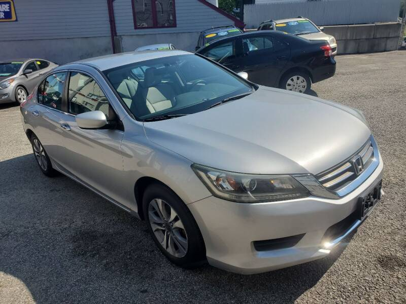 2014 Honda Accord for sale at Fortier's Auto Sales & Svc in Fall River MA