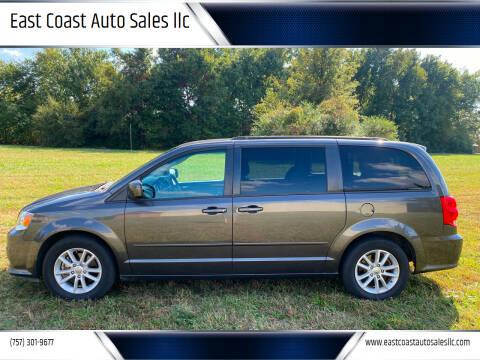 2016 Dodge Grand Caravan for sale at East Coast Auto Sales llc in Virginia Beach VA
