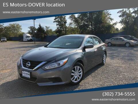 2016 Nissan Altima for sale at ES Motors-DAGSBORO location - Dover in Dover DE