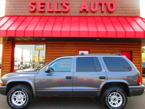 2002 Dodge Durango for sale at Sells Auto INC in Saint Cloud MN