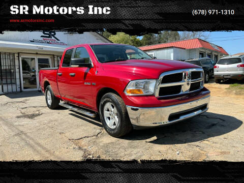 2009 Dodge Ram Pickup 1500 for sale at SR Motors Inc in Gainesville GA