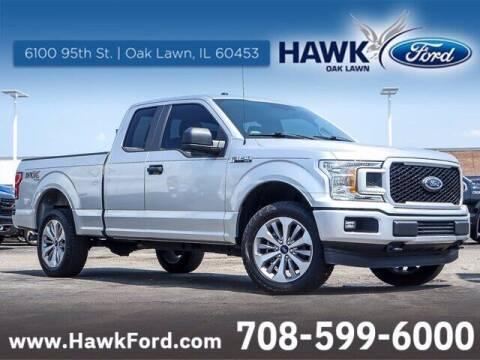 2018 Ford F-150 for sale at Hawk Ford of Oak Lawn in Oak Lawn IL