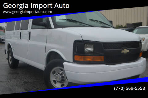 2010 Chevrolet Express Passenger for sale at Georgia Import Auto in Alpharetta GA