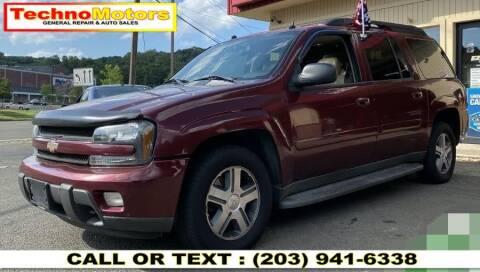 2005 Chevrolet TrailBlazer EXT for sale at Techno Motors in Danbury CT
