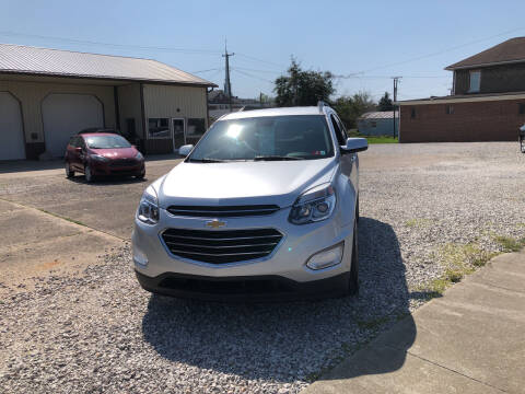 2016 Chevrolet Equinox for sale at ADKINS PRE OWNED CARS LLC in Kenova WV