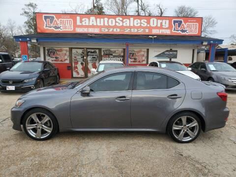 2013 Lexus IS 250 for sale at LA Auto Sales in Monroe LA