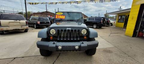 2012 Jeep Wrangler Unlimited for sale at Frankies Auto Sales in Detroit MI