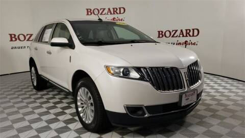 2013 Lincoln MKX for sale at BOZARD FORD in Saint Augustine FL