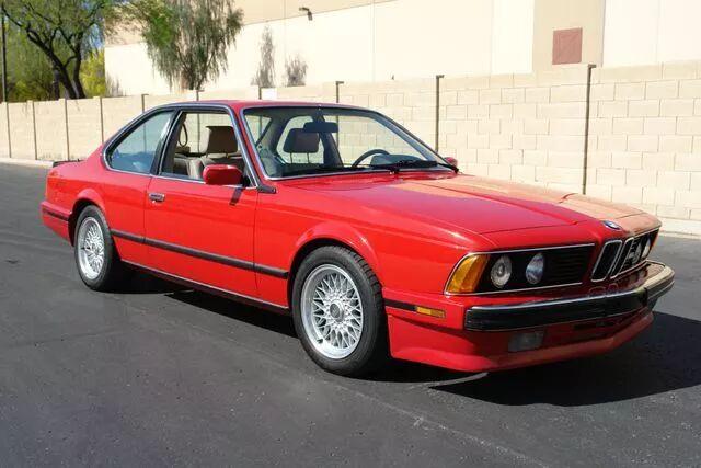 1988 BMW M6 1