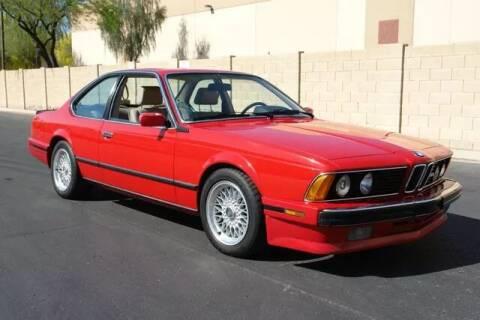 1988 BMW M6 for sale at Arizona Classic Car Sales in Phoenix AZ