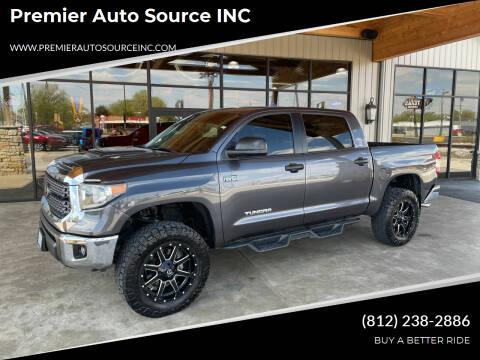 2018 Toyota Tundra for sale at Premier Auto Source INC in Terre Haute IN