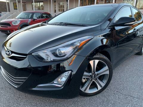 2016 Hyundai Elantra for sale at Georgia Car Shop in Marietta GA
