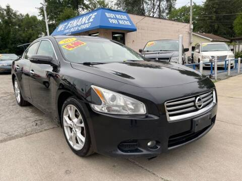 2012 Nissan Maxima for sale at Great Lakes Auto House in Midlothian IL