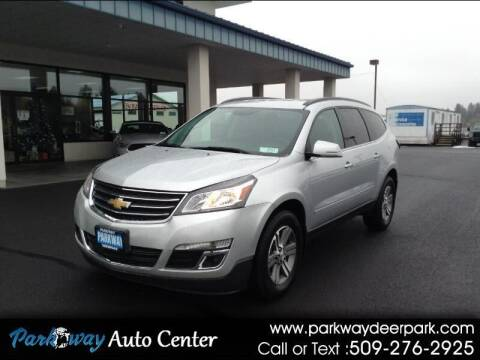 2017 Chevrolet Traverse for sale at PARKWAY AUTO CENTER AND RV in Deer Park WA