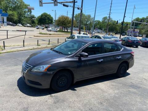 2014 Nissan Sentra for sale at Smart Buy Car Sales in Saint Louis MO