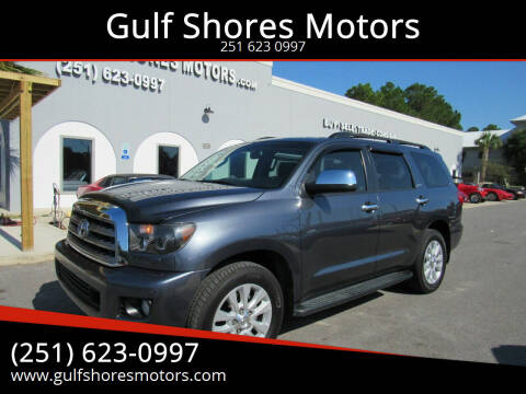2010 Toyota Sequoia for sale at Gulf Shores Motors in Gulf Shores AL