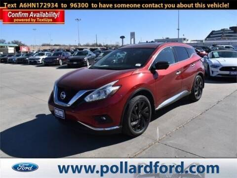 2017 Nissan Murano for sale at South Plains Autoplex by RANDY BUCHANAN in Lubbock TX