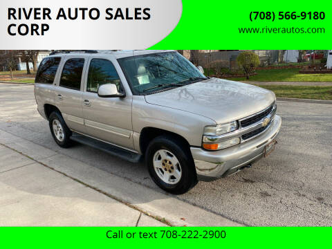 2006 Chevrolet Tahoe for sale at RIVER AUTO SALES CORP in Maywood IL