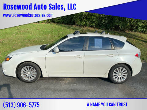 2009 Subaru Impreza for sale at Rosewood Auto Sales, LLC in Hamilton OH