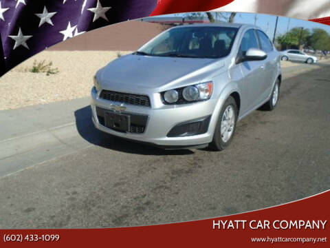 2013 Chevrolet Sonic for sale at Hyatt Car Company in Phoenix AZ