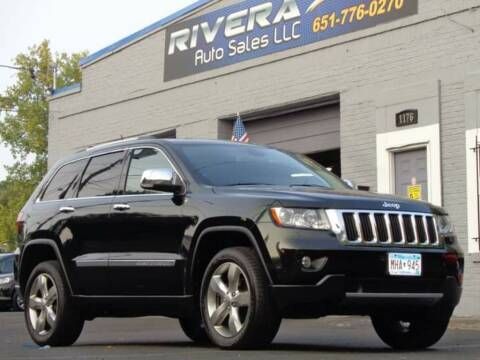 2013 Jeep Grand Cherokee for sale at Rivera Auto Sales LLC in Saint Paul MN