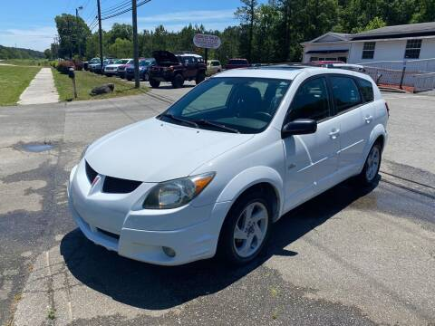 2004 Pontiac Vibe for sale at CVC AUTO SALES in Durham NC