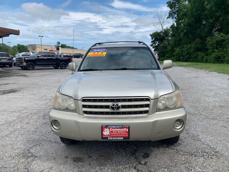 2002 Toyota Highlander for sale at Community Auto Brokers in Crown Point IN