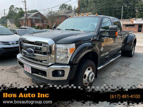 2016 Ford F-350 Super Duty for sale at Bos Auto Inc in Quincy MA