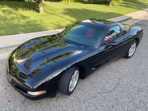 1998 Chevrolet Corvette for sale at Donada  Group Inc in Arleta CA