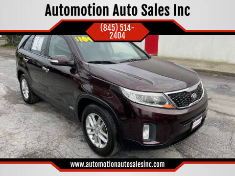 2014 Kia Sorento for sale at Automotion Auto Sales Inc in Kingston NY