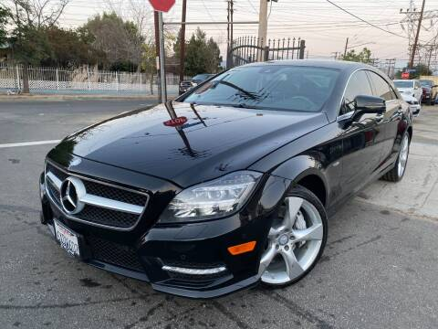 2012 Mercedes-Benz CLS for sale at West Coast Motor Sports in North Hollywood CA