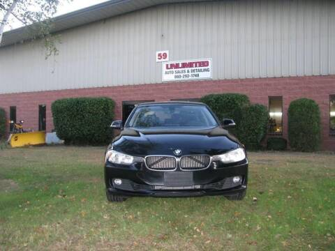 2013 BMW 3 Series for sale at Unlimited Auto Sales & Detailing, LLC in Windsor Locks CT