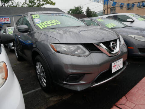 2015 Nissan Rogue for sale at M & R Auto Sales INC. in North Plainfield NJ