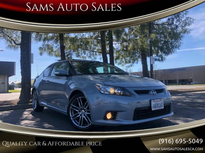 2012 Scion tC for sale at Sams Auto Sales in North Highlands CA