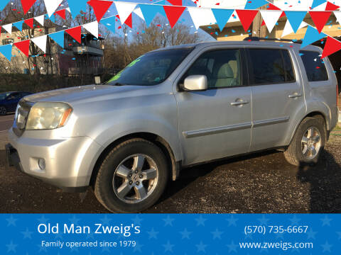 2009 Honda Pilot for sale at Old Man Zweig's in Plymouth Township PA