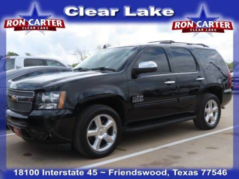 2013 Chevrolet Tahoe for sale at Ron Carter  Clear Lake Used Cars in Houston TX