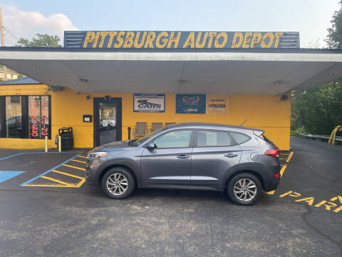 2018 Hyundai Tucson for sale at Pittsburgh Auto Depot in Pittsburgh PA