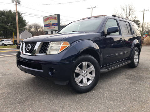 2006 Nissan Pathfinder for sale at Beachside Motors, Inc. in Ludlow MA
