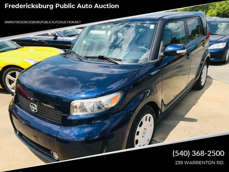 2008 Scion xB for sale at FPAA in Fredericksburg VA