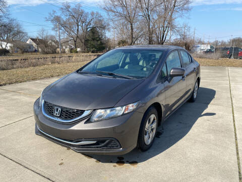 2014 Honda Civic for sale at Mr. Auto in Hamilton OH